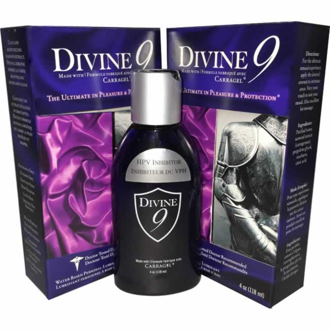 Divine 9 is the only lubricant that is effective in the prevention of HPV